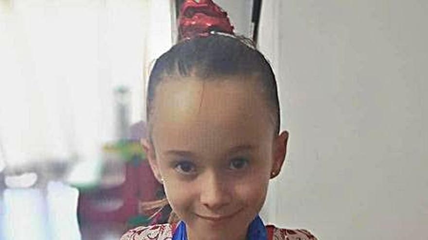 La mislatera Alejandra Martínez logra dos medallas en gimnasia artística