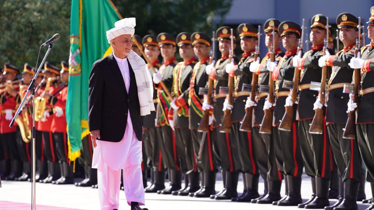 Ashraf Ghani, expresidente de Afganistán.