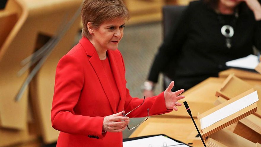 Els nacionalistes escocesos  presenten el full de ruta per a un nou referèndum d'independència