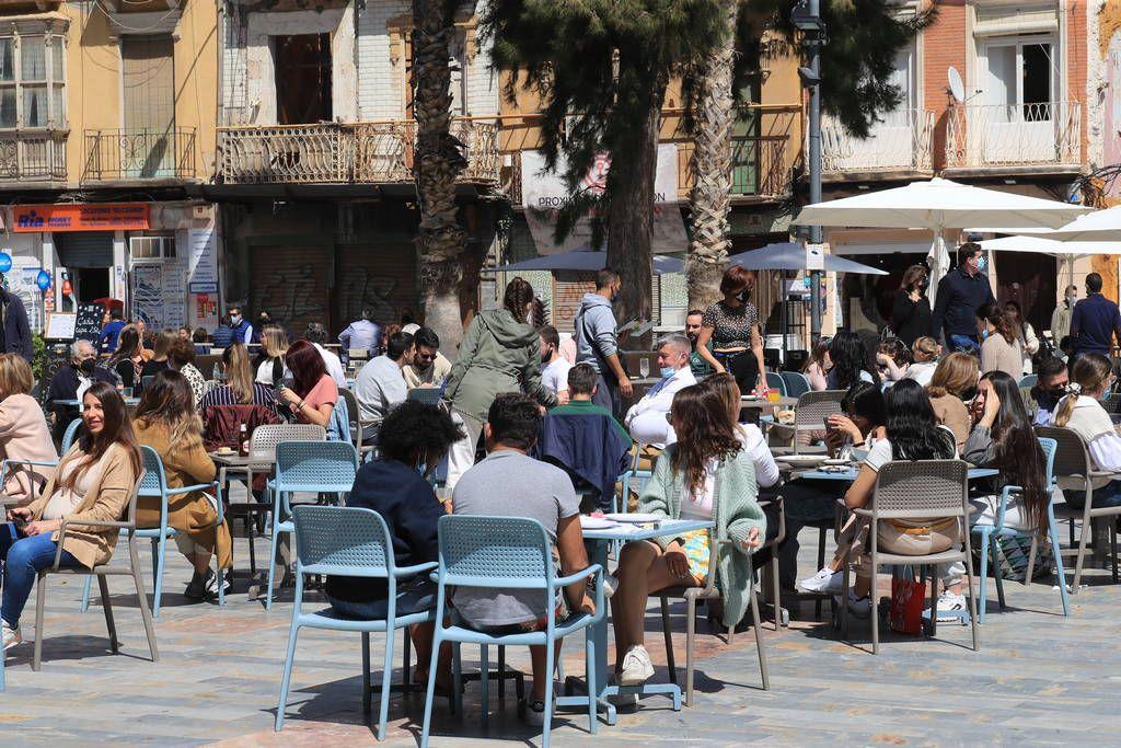 Así estaba Cartagena en el día de su patrona