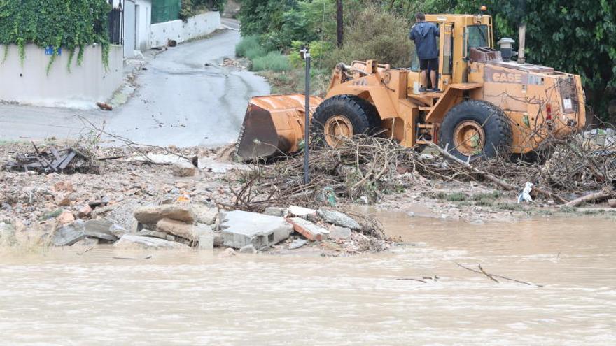 El Segura podría desbordarse mañana en puntos de Orihuela y Rojales
