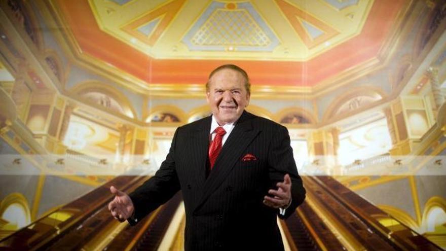 Mor el magnat Sheldon Adelson, impulsor d'Eurovegas