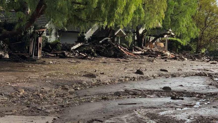 Quince muertos en las riadas y aludes ocasionados por las lluvias en California