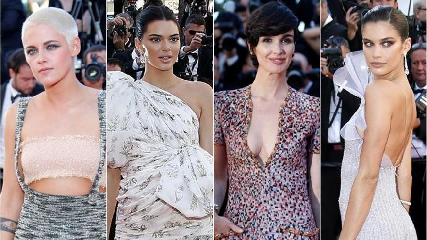 Paz Vega deslumbra en la alfombra roja de Cannes