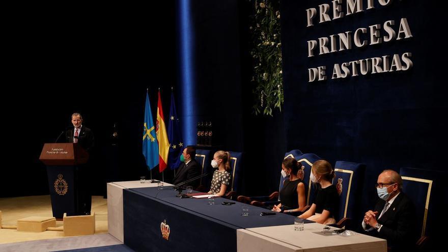 """Felipe VI elogia la capacidad de superación de los españoles: """"La crisis nos ha hecho ver una población fuerte, responsable y solidaria"""""""