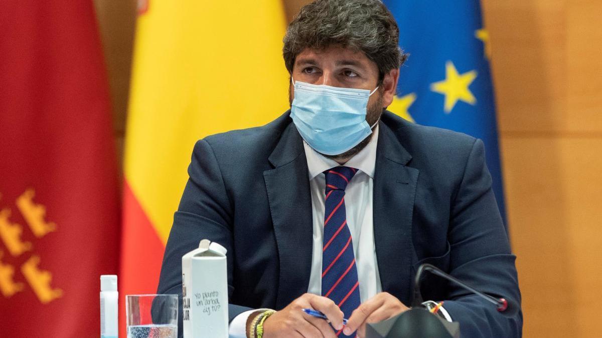 López Miras no descarta que Lorca retroceda a la fase 1 si no mejora