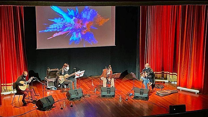 El Teatro Príncipe Felipe acoge el sábado el 'Concierto entre viñedos'