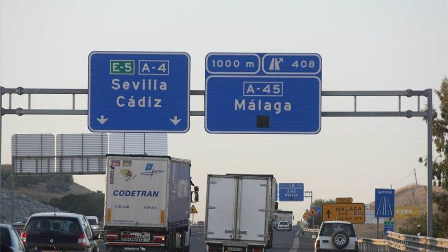 La DGT prevé retenciones en los accesos a la ronda de Córdoba este fin de semana