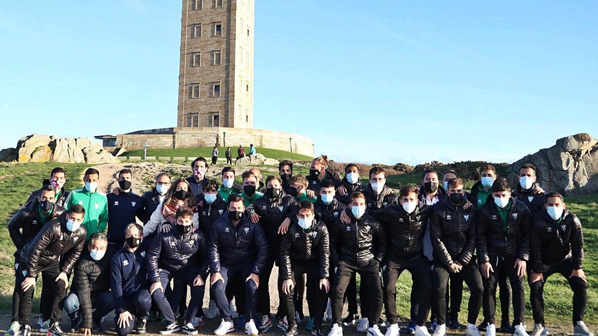 El Guijuelo, de concentración en A Coruña | CDGUIJUELO