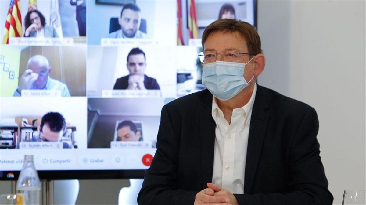 La vacunación en Valencia: 400.000 dosis semanales desde abril