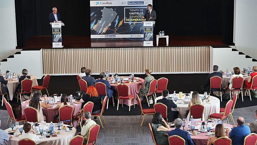 El desayuno empresarial con Ximo Puig, en Medi TV