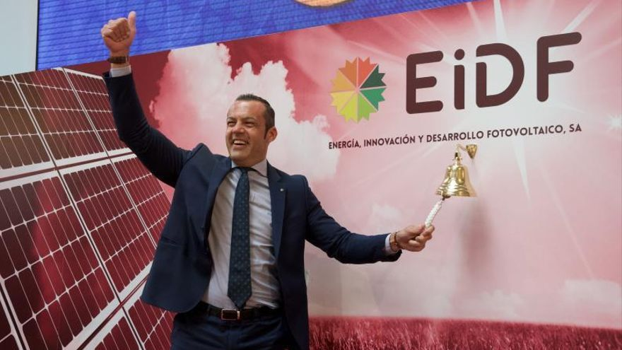 EiDF brilla en su salida a Bolsa con 61 parques solares bajo el brazo