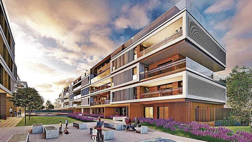 Arquitectos de premio para Nou Llevant