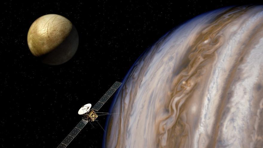 Científicos asturianos descubren que en la mayor luna de Júpiter se dan las condiciones para la vida