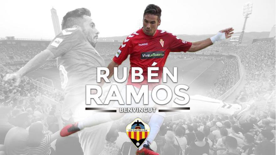 Rubén Ramos, nuevo jugador del CD Castellón