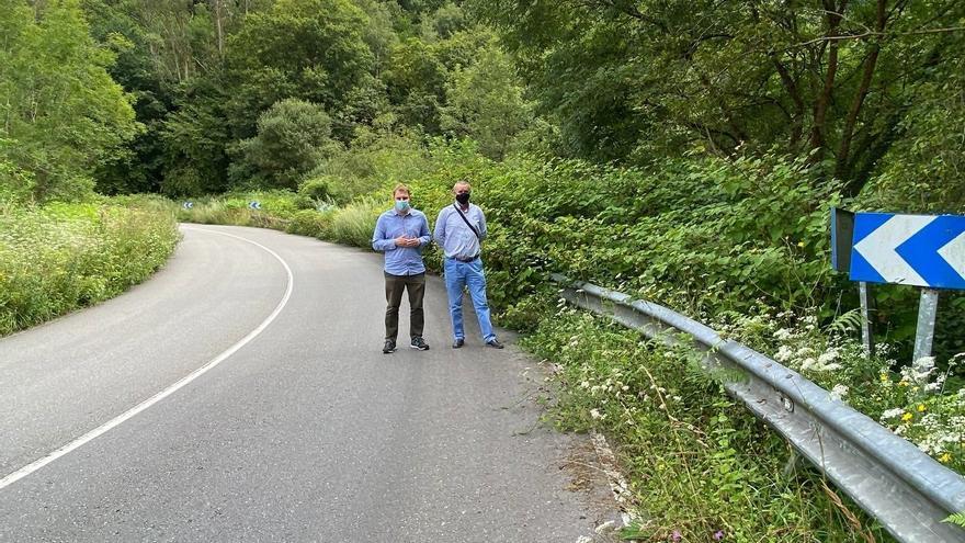 """Críticas por el """"abandono"""" de las carreteras del Principado, en especial la Carbonera"""