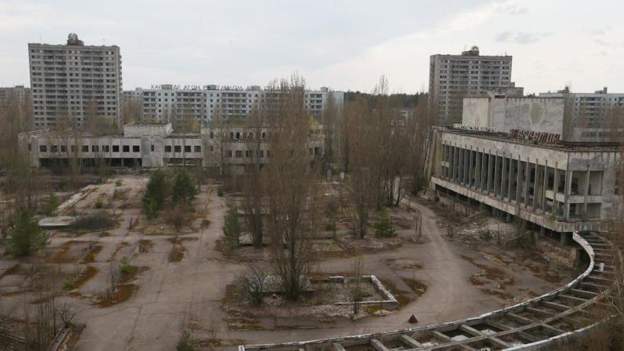 Cinco minutos en la zona cero de Chernóbil