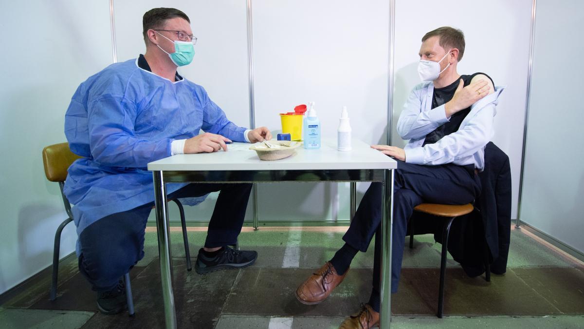 Vacunació contra el coronavirus a Alemanya.