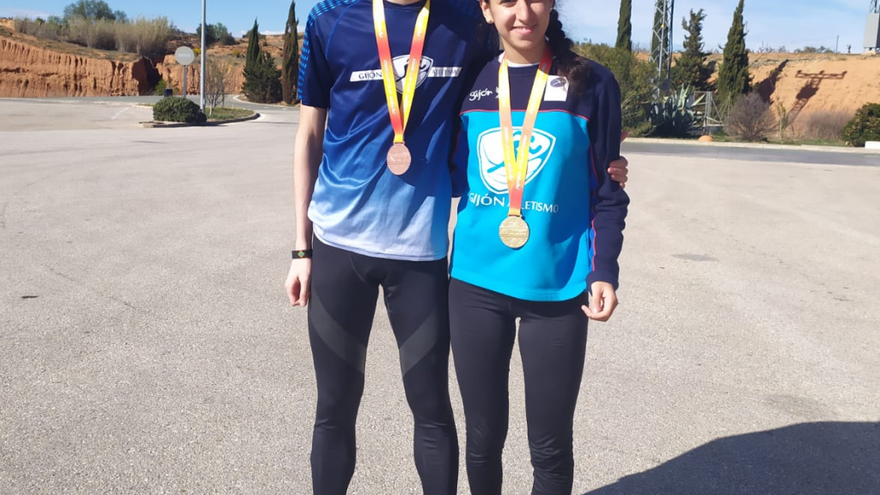 Los asturianos, cargados de medallas en los Nacionales