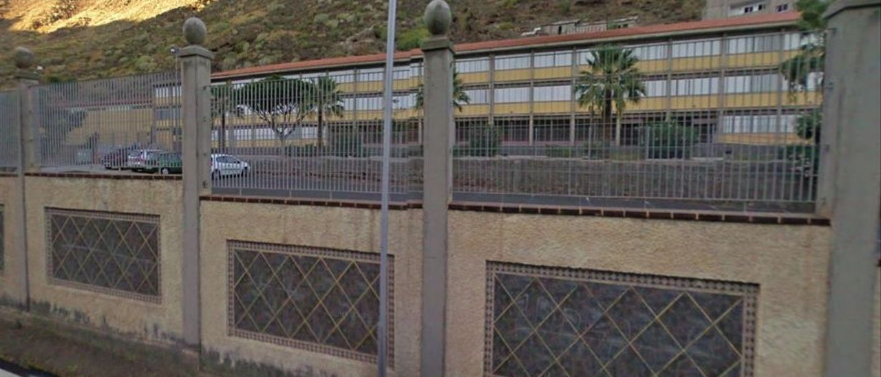 IES Anaga, en Santa Cruz de Tenerife.