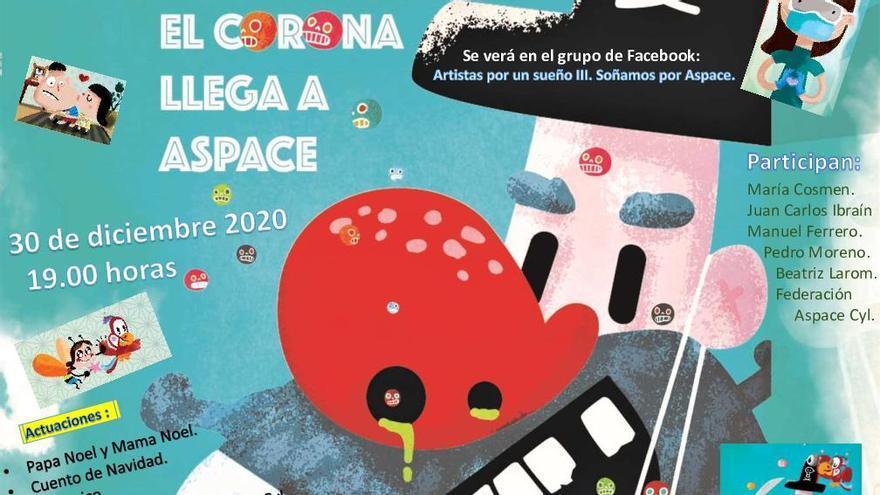 'El Corona llega a Aspace', libro solidario de Aspace.