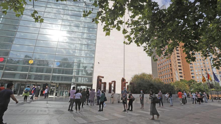 Así estaba la Ciudad de la Justicia de València el primer día en el que se retoman los juicios