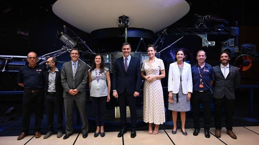 La grancanaria Mar Vaquero, entre los ingenieros que guiaron a Sánchez en la NASA