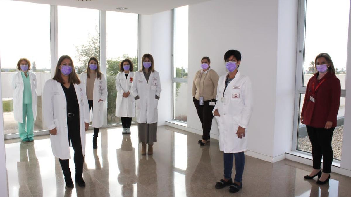 Una imagen de personal sanitario del Hospital del Vinalopó, en Elche