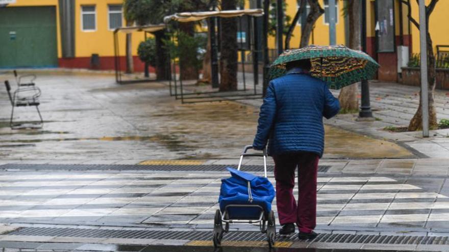 Lluvia en Gran Canaria (04/02/2021)