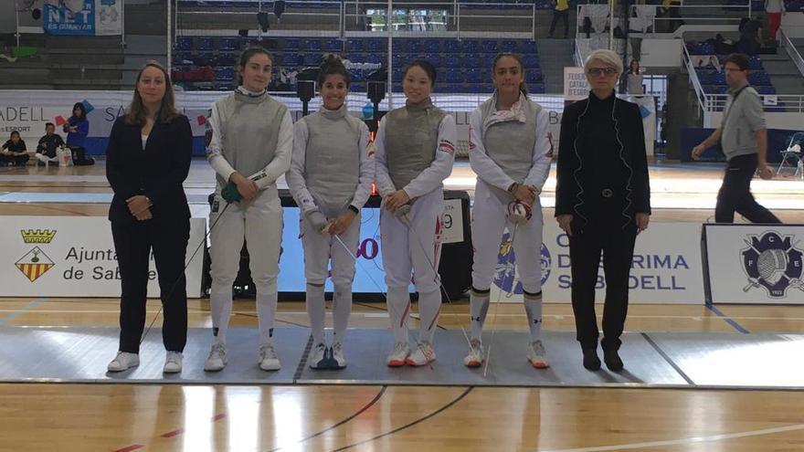 Bronce para María Mariño en el Open de Sabadell