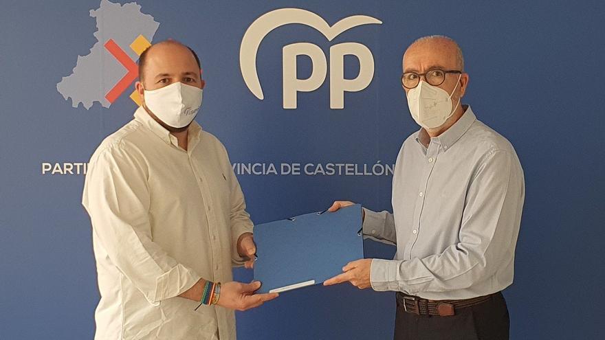 Lluís Gandia presenta sus avales para optar a presidir el PP de Castellón