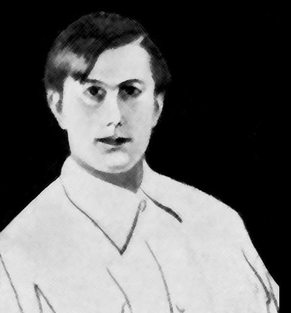 """Autorretrato de Manuel Fernández Lourido, """"Lourido"""""""