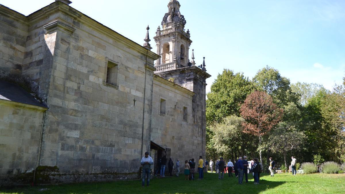 Santuario de La Tuiza, en el municipio de Lubián.