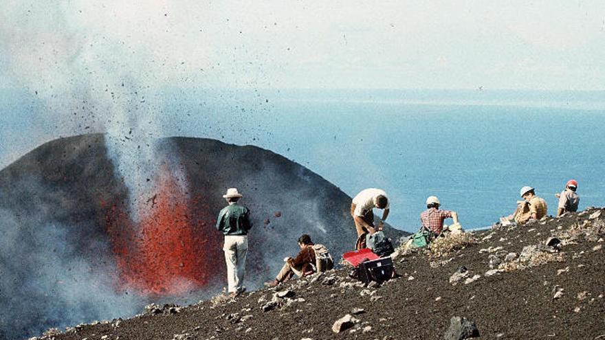 Cumbre Vieja emite 800 toneladas diarias de CO2