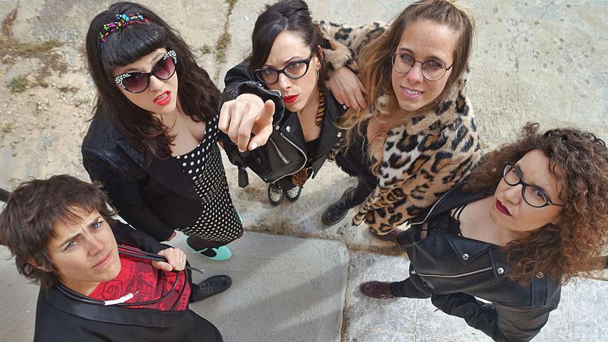 Titis Twister: las chicas zamoranas son rockeras