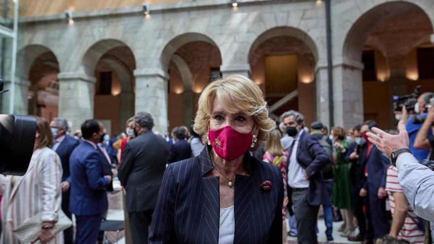 Aguirre pide al juez no prorrogar la investigación de Púnica sobre la financiación del PP madrileño