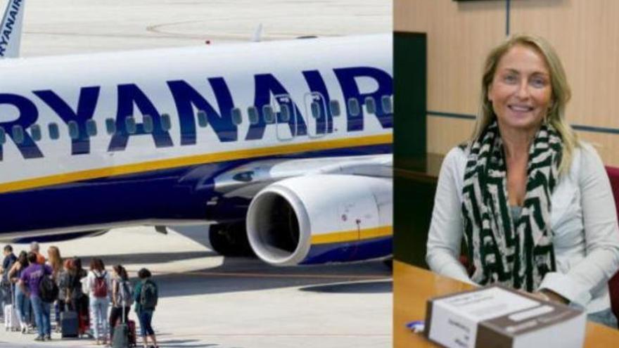 Una catedrática de Derecho le gana un juicio a Ryanair