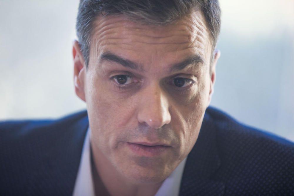 Entrevista a Pedro Sánchez