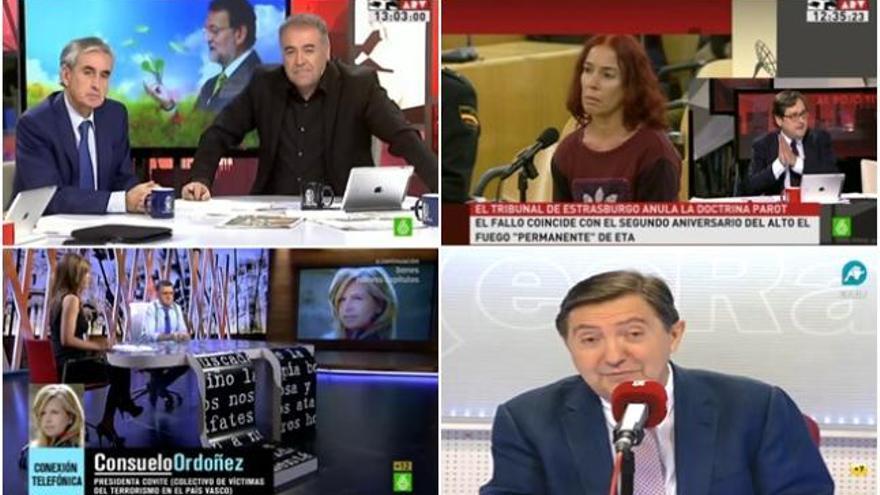 """Jiménez Losantos y la doctrina Parot: """"No es lo mismo matar a uno que a veintiuno"""""""