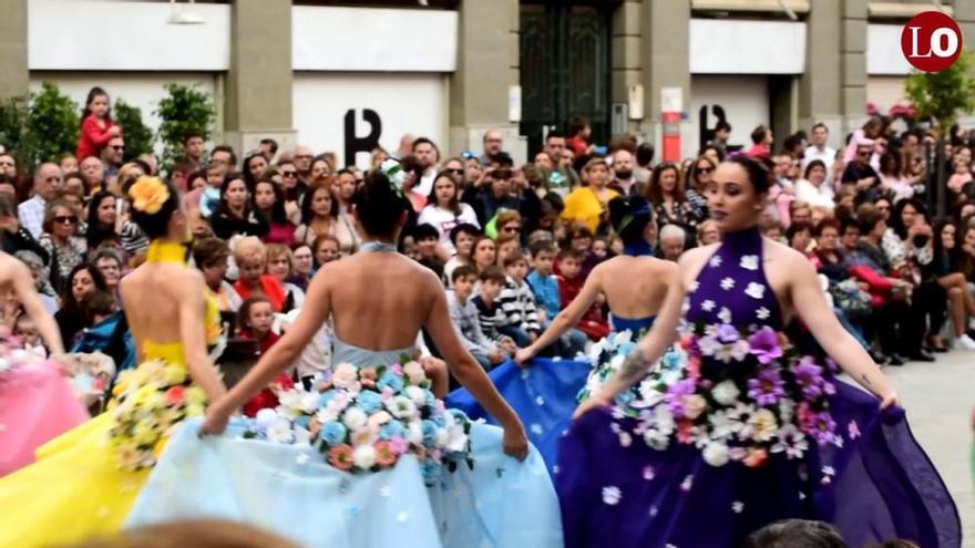 Batalla de las flores en Murcia