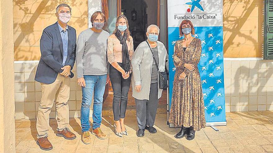 Caixabank aporta 18.000 euros a la Fundación Minyones