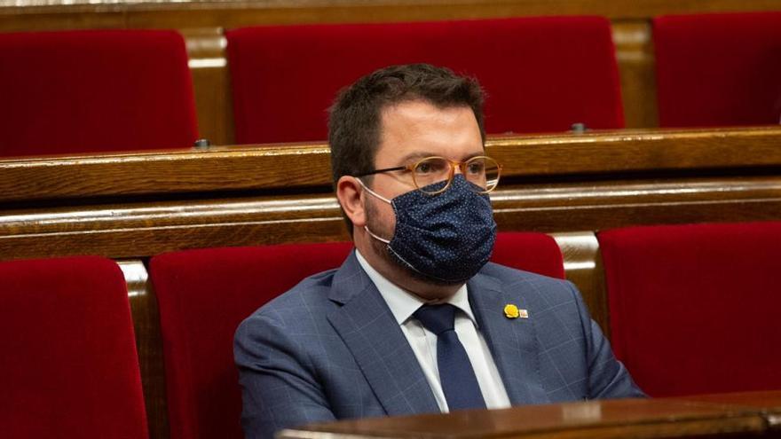 "Aragonès ejercerá ""funciones limitadas"" de Presidencia"