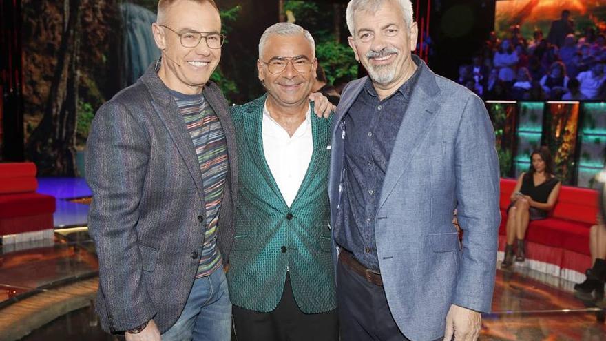Jorge Javier Vázquez, Jordi González y Carlos Sobera presentarán 'Secret Story' en Mediaset