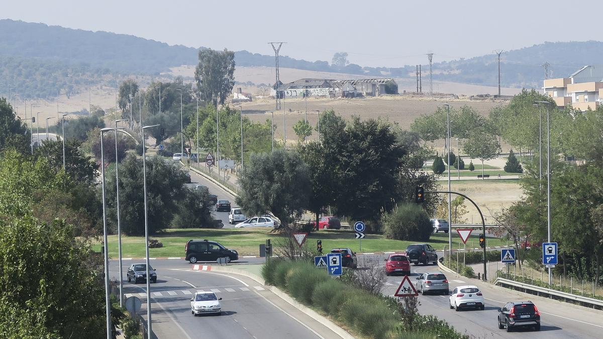 La ronda norte, en su tramo de La Mejostilla.