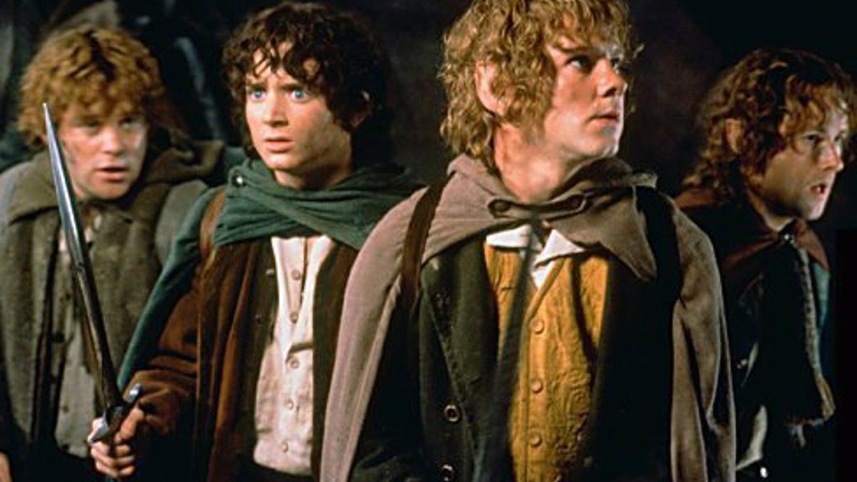 Hobbits de 'El señor de los anillos'.