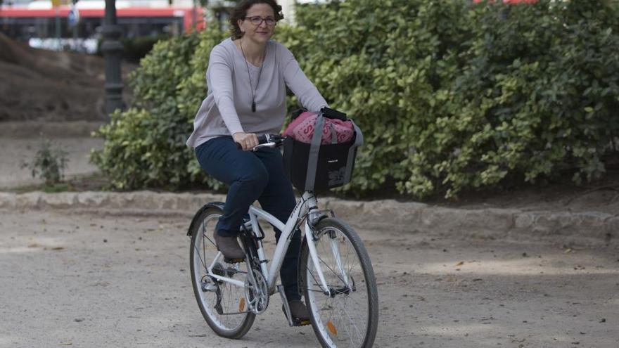Roban el sillín de la bici de la consellera de Medio Ambiente