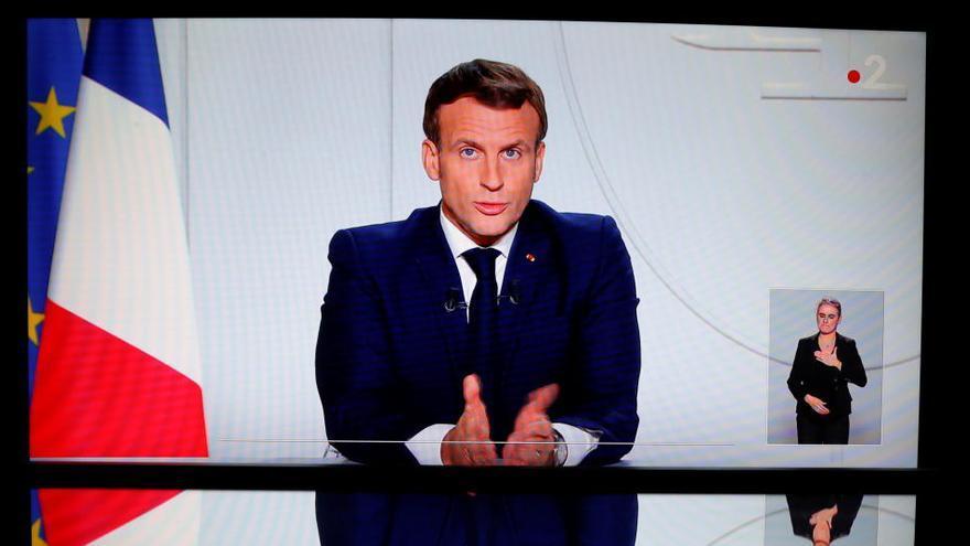 Macron anuncia un nuevo confinamiento en Francia