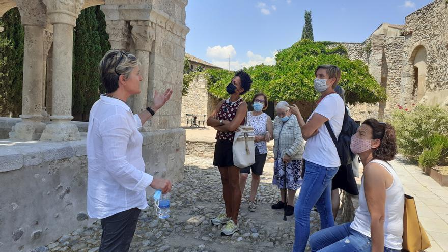 Acaben els treballs de restauració del claustre de Sant Domènec de Peralada