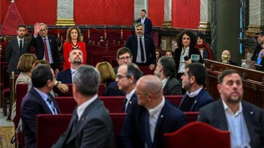 El Supremo reanuda el juicio del 'procés': el turno de las acusaciones