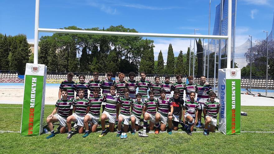 El Club de Rugby Málaga cierra un fin de semana histórico